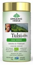 Ceai Tulsi cu Ceai Verde - Organic India