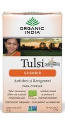 Ceai Tulsi Ghimbir - Organic India