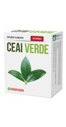 Ceai Verde capsule - Parapharm