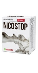 Nicostop - Capsule contra fumatului - Parapharm