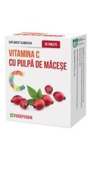 Vitamina C cu pulpa de Macese - Parapharm