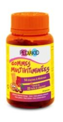 Ursuleti gumati cu vitamine si minerale - Pediakid