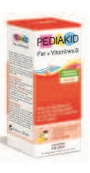 Sirop Fier Vitamina B - Pediakid