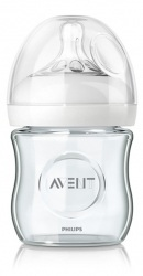 Biberon din Sticla 120 ml NATURAL - Philips Avent