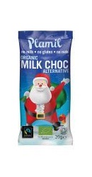 Mos Craciun Ciocolata organica vegana Dulce - Plamil