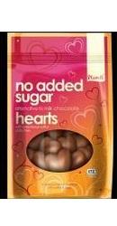 Inimi de ciocolata organica vegana fara Zahar Dulce - Plamil