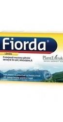 Fiorda Comprimate pentru supt aroma de lamaie - PlantExtrakt