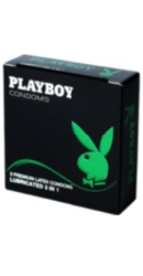 Prezervative Classic 3 in 1  - Playboy