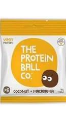 Bile de proteine cu nuca de cocos si macadamia - Protein Ball