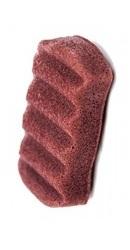Burete de corp pentru regenerare cu argila rosie - Pure Konjac Sponge