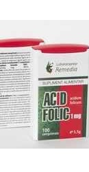 Acid Folic - Remedia