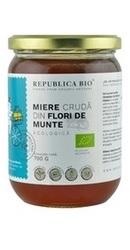 Miere ecologica poliflora cruda din Flori de Munte - Republica BIO