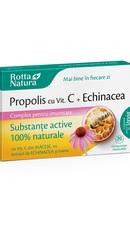 Propolis Vitamina C naturala si miere comprimate masticabile - Rotta Natura