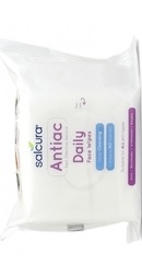 Antiac Daily Servetele umede pentru tenul cu acnee - Salcura