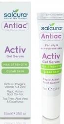 Antiac Gel tratament pentru acnee si pete pigmentate - Salcura