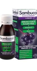 Sambucol Sirop Immuno Forte Vitamina C Zinc Fara zahar