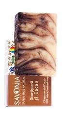 Sapun Natural Scortisoara si Cacao - Savonia
