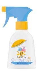Baby Sun Care Spray dermatologic pentru protectie solara SPF50, fara parfum - Sebamed