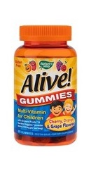 Alive! Gummies Multi Vitamin pentru copii -  Nature s Way