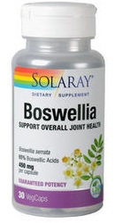 Boswellia 450mg - Solaray