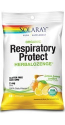Respiratory Protect Lemon Honey - Solaray