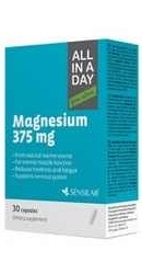 All In A Day Magnesium 375 mg - Sensilab