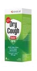 Dry Cough Relief Sirop Tuse seaca  - Sensilab