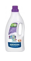 Detergent Bio Lichid Rufe Albe si Color Lavanda - Sodasan