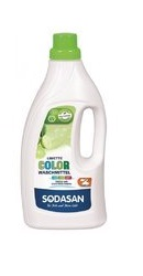 Detergent Bio Lichid Rufe Albe si Color Lime - Sodasan