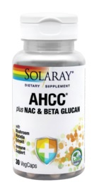 AHCC Plus NAC si  Beta Glucan - Solaray