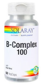 B - Complex 100mg - Solaray
