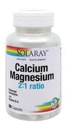 Calcium Magnesium Vitamin D - Solaray