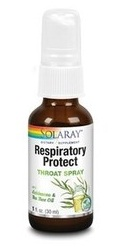 Respiratory Protect Throat Spray - Solaray