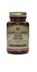 Alpha Lipoic Acid 200 mg - Solgar