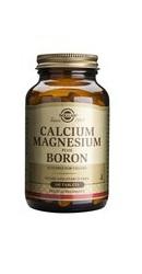 Calciu Magneziu plus Bor - Solgar