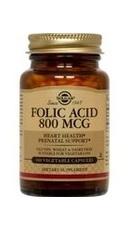 Folic Acid 800 MCG - Solgar