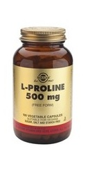 L-Proline 500 mg - Solgar