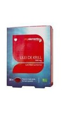 Ulei De Krill Omega 3 500 mg - Myelements