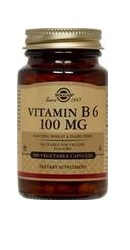 Vitamin B6 100 mg - Solgar