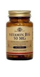 Vitamin B6 50 mg - Solgar