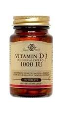 Vitamin D3 1000 UI 90 capsule - Solgar