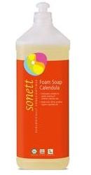 Sapun lichid ecologic spumant cu galbenele pentru copii Sonett