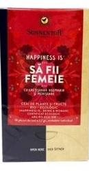 Ceai BIO Happiness Is Sa Fii Femeie - Sonnentor