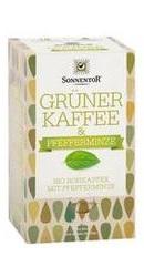 Cafea Verde cu Menta - Sonnentor