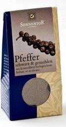 Condiment Piper Negru macinat - Sonnentor