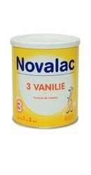 Lapte praf Novalac 3 cu vanilie de la 1-3 ani - Sun Wave Pharma