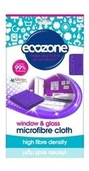 Laveta din microfibra pentru sticla si geamuri - Ecozone