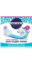 Tablete pe baza de oxigen activ pentru albirea rufelor si indepartarea petelor rufe albe - Ecozone
