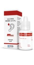 Alcool Boricat - Tis Farmaceutic