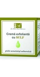 Q4U Crema Exfolianta cu Sulf - Tis Farmaceutic
